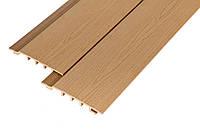 Фасадная доска сайдинг, древесно полимерный композит, ДПК