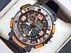 Спортивные наручные часы  Casio G-SHOCK ga-1000 оранжевые авиаторы