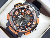 Спортивные наручные часы  Casio G-SHOCK ga-1000 оранжевые авиаторы , фото 1