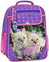 Рюкзак школьный с рисунком котика
