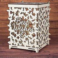 """Свадебная коробка для денег """"Бабочки"""", фото 1"""