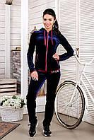 Женскийспортивный велюровый костюм