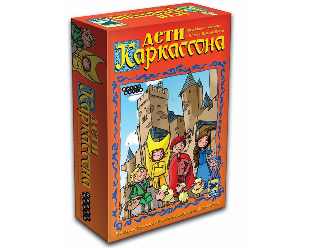 Настольная игра Дети Каркассона TM Hobby World