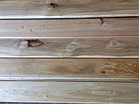 Доска половая Лиственница 27х135  шпунтованная массивная , фото 1