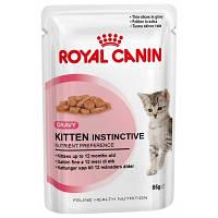 Royal Canin (Роял Канин) Kitten Instinctive влажный корм для котят до 12 месяцев (85 г), фото 1
