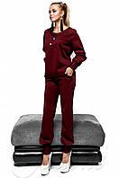 Спортивный бордовый костюм Holiday Jadone  42-48  размеры