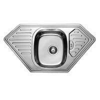 Мойка кухонная из нержавеющей стали Фосто 7801