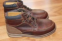 Кожаные ботинки George, демисезон, еврозима. Размеры 33-38
