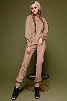 Спортивный бежевый костюм Holiday Jadone  42-48  размеры