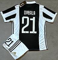 Футбольная форма  2017-2018 Ювентус (Juventus), домашняя,  Ф38