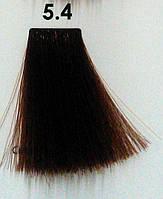 5.4 Светлый Шатен Медный, крем-краска для волос Luxor Color