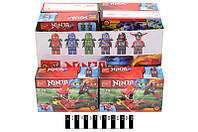 "Конструктор ""Ninja"" (коробка 12 шт.) 29,6*14,3*18,7 см. /432/"