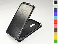 Откидной чехол из натуральной кожи для LG D690 G3 Stylus