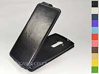 Откидной чехол из натуральной кожи для LG H815 G4