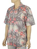 Рубашка мужская разных цветов с коротким рукавом XL