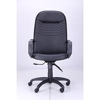 Кресло Стар Пластик Кожа Сплит черная (AMF-ТМ)