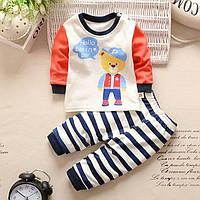Детская трикотажная пижама 74-86