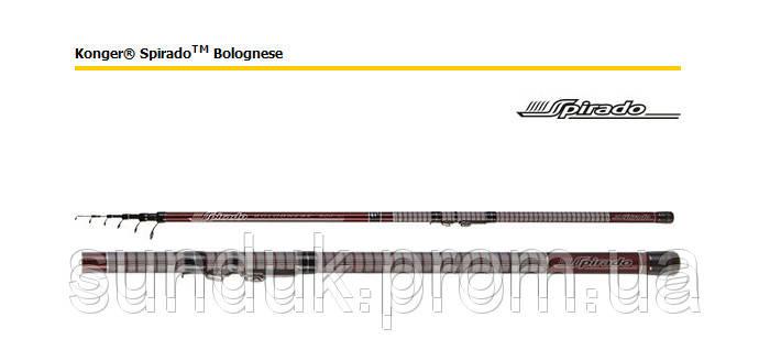 Болонское удилище Spirado Bolognese Konger (весь модельный ряд)