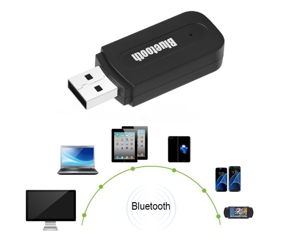 Bluetooth аудио ресивер приемник Wireless Reciver  AUX 3.5