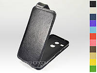 Откидной чехол из натуральной кожи для LG H791 Nexus 5x