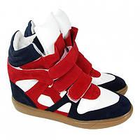 Сникерсы зима Sneakers Isabel Marant (Изабель Марант)