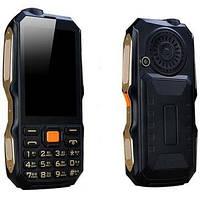 Противоударный телефон Land Rover (DBEIF D2017)  2 сим,3,5 дюйма,9800 мА/ч + TV.