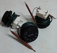 Термостат гибкий 10-75С 16А Sanal для бойлера