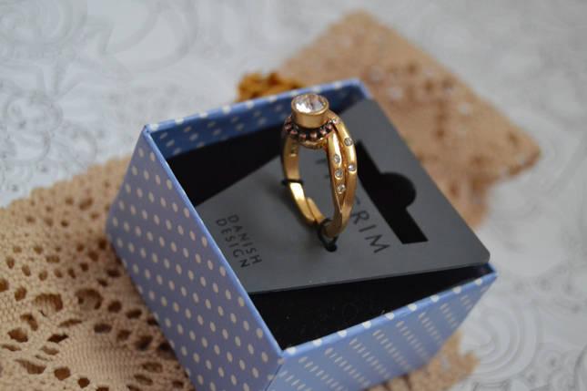Регулируемое кольцо с камнями Pilgrim, фото 2