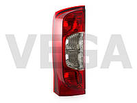 Fiat Fiorino III 2007- фонарь видимости фара задняя левая версия с дверями
