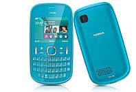 Телефон Nokia Asha 200 Blue