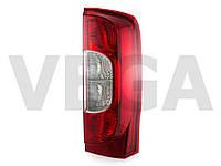 Fiat Fiorino III 2007- фонарь видимости задний фара правая версия с дверями