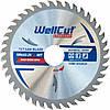 Диск пильный по дереву WellCut Standard 125*22.23  40 t
