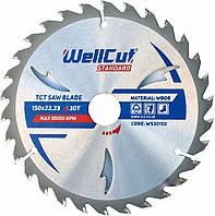 Диск пильный по дереву WellCut Standard 150*22.23  30 t