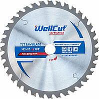 Диск пильный по дереву WellCut Standard 185*20 20 t
