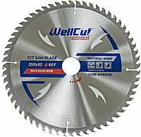 Диск пильный по дереву WellCut Standard 250*32 60 t