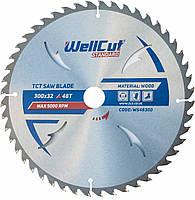 Диск пильный по дереву WellCut Standard 300*32 48 t