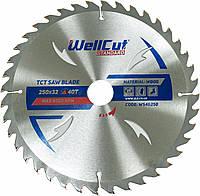 Диск пильный по дереву WellCut Standard 250*32 40 t