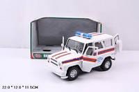 Машина игрушечная Джип PLAY SMART Служба спасения, 9076-F