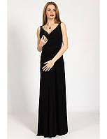 Платье вечернее с ручной вышивкой на спине и лифе