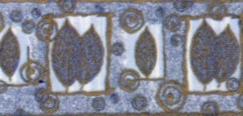Фриз АТЕМ Goya Leaf Bl (90068), фото 2