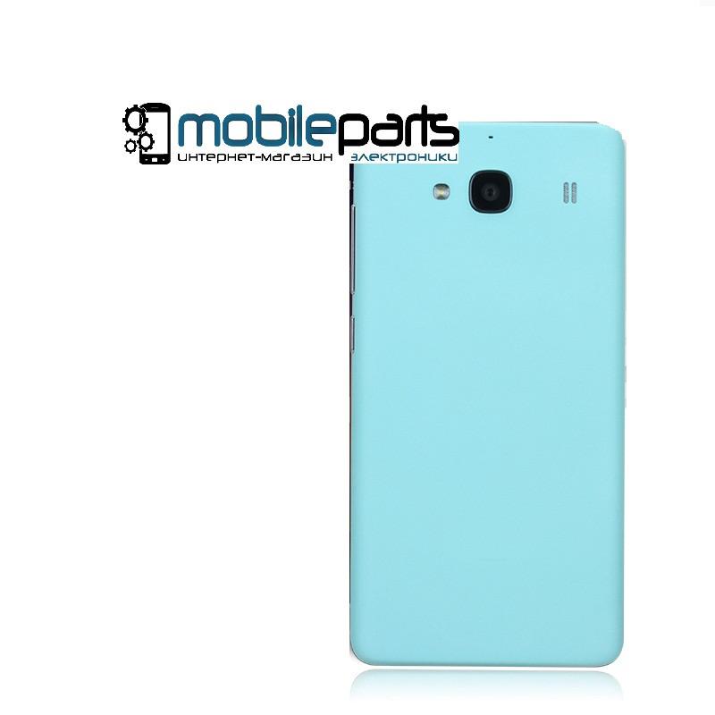 Задняя панель корпуса (крышка) для Xiaomi Mi2 (Голубая)