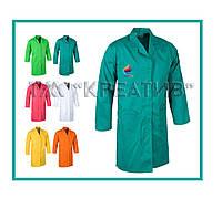 Халаты рабочие мужские ярких рассцветок (от 50 шт.)