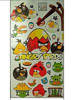 Наклейки Виниловые Angry Birds