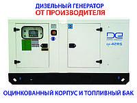 Дизельный генератор DE-42RS-Zn 38кВА/30кВт, 3 фазы, подогрев и автозапуск