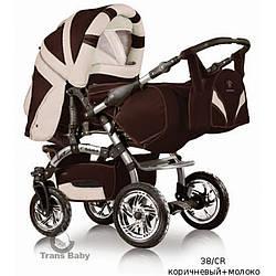 Универсальная коляска-трансформер Trans baby Prado lux 38/CR