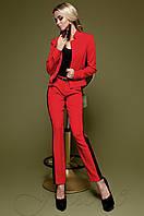 Красный женский костюм Новара Jadone  42-48  размеры