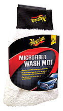Meguiar's E102 Ultimate Microfiber Wash Mitt - Микрофибровая рукавица (20х25 см.)