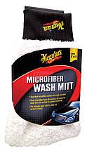Рукавица микрофибровая для мойки - Meguiar's Ultimate Microfiber Wash Mitt 20х25 см. (E102EU)