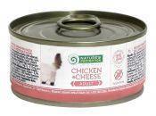 Консервы для кошек Nature's Protection Adult Chicken & Cheese