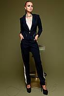 Темно-синий женский костюм Новара Jadone  42-48  размеры